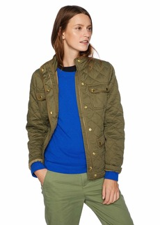 J.Crew Mercantile Women's Quilted Field Jacket Frosty  L