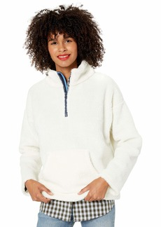 J.Crew Mercantile Women's Sherpa Pullover Sweater  M