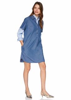 fffe88028a91 J.Crew Mercantile Women s Short Sleeve Chambray Shirtdress M