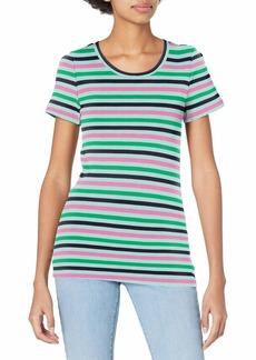 J.Crew Mercantile Women's Short Sleeve T-Shirt in Stripe  XXS