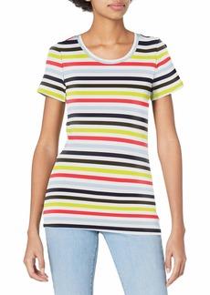 J.Crew Mercantile Women's Short Sleeve T-Shirt in Stripe  XL