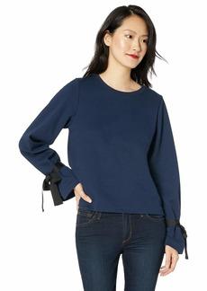 J.Crew Mercantile Women's Sweatshirt with Tie Sleeve  M