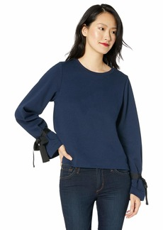 J.Crew Mercantile Women's Sweatshirt with Tie Sleeve  S