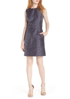 J.Crew Metallic Jacquard Sheath Dress (Nordstrom Exclusive)