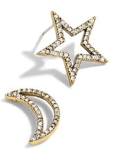 J.Crew Mismatched Celestial Stud Earrings
