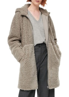 J.Crew Mixed Teddy Fleece Coat