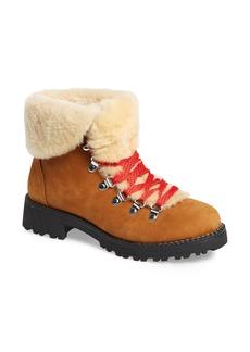 J.Crew Nordic Genuine Shearling Cuff Winter Boot (Women)