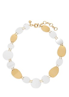 J.Crew Oval & Circle Necklace