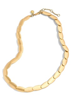 J.Crew Oval Necklace