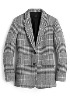 J.Crew Oversize Glen Plaid Blazer