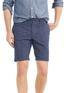 J.Crew Paisley Stretch Cotton Shorts