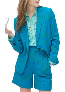 J.Crew Parke Colorful Gingham Blazer