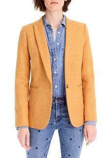 J.Crew Parke Herringbone Wool Blazer (Regular & Petite)