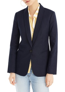 J.Crew Parke Stretch Linen Blend Blazer (Regular & Petite)