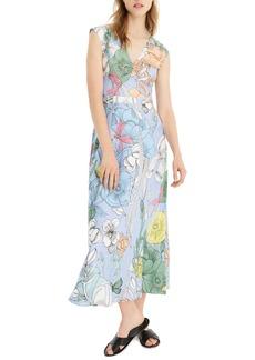J.Crew Pastel Floral Maxi Dress