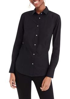 J.Crew Perfect Curvy Slim Stretch Shirt (Regular & Plus Size)