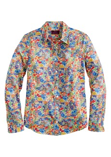 J.Crew Perfect Liberty® Margaret Annie Floral Print Shirt