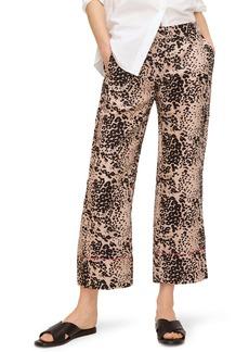 J.Crew Peyton Leopard Print Pants