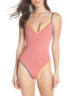 J.Crew Playa Montauk Strappy One-Piece Swimsuit