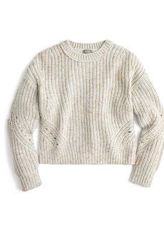 J.Crew Point Sur Chunky Rib Crewneck Sweater