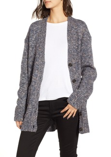 J.Crew Point Sur Patch Pocket Oversize Cardigan