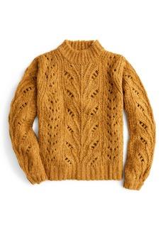 J.Crew Point Sur Pointelle Sweater