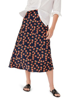 J.Crew Poppy Fields Pull-On Slip Skirt