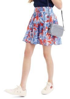 J.Crew Ratti® Rio Floral Tiered Miniskirt