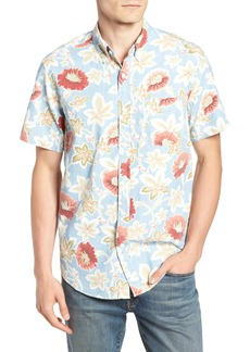 J.Crew Regular Fit Floral Print Sport Shirt