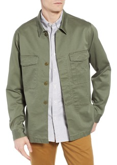 J.Crew Regular Fit Military Shirt Jacket