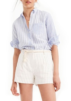 J.Crew Relaxed Cotton Linen Boy Shirt
