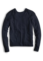 J.Crew Reversible Button Back Sweater