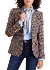 J.Crew Rhodes Houndstooth Wool Blazer (Petite)