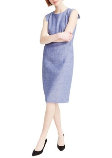 J.Crew Résumé Linen Blend Sheath Dress
