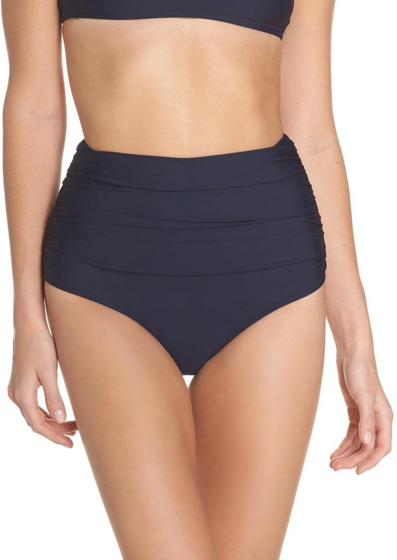 10d1a5a6815 On Sale today! J.Crew J.Crew Ruched High Waist Bikini Bottoms