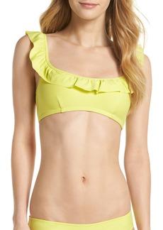 J.Crew Ruffle Bikini Top