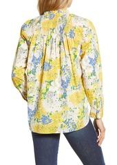 J.Crew Ruffle Classic Popover Shirt (Nordstrom Exclusive)