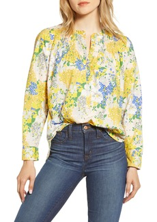 J.Crew Ruffle Classic Popover Shirt (Nordstrom Exclusive)