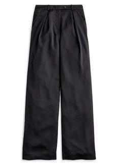 J.Crew Satin Backed Crepe Wide Leg Pants