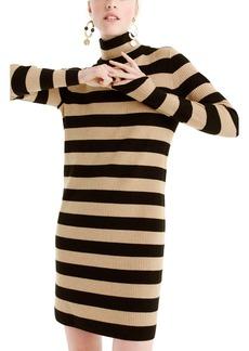 J.Crew Seabird Turtleneck Sweater Dress (Regular & Petite)