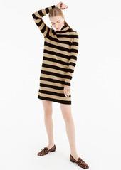 J.Crew Stripe Turtleneck Sweater Dress (Regular & Petite)