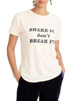 J.Crew Shake It Don't Break It Tee
