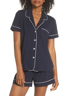 J.Crew Short Sleeve Knit Pajamas