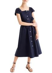 J.Crew Short Sleeve Shirtdress (Regular & Petite)