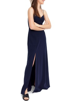 J.Crew Side Slit Sleeveless Maxi Dress