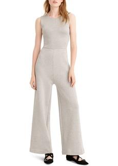 J.Crew Sleeveless Lurex® Jumpsuit with Velvet Tie