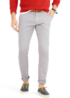 J.Crew Slim Fit Garment Dyed Stretch Chinos