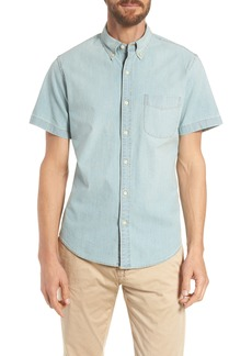 J.Crew Slim Fit Stretch Chambray Shirt
