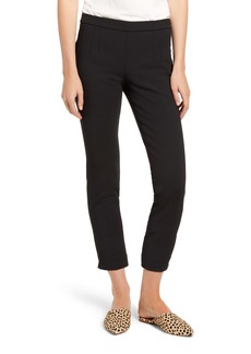 J.Crew Slim Fit Stretch Crepe Pants (Petite) (Nordstrom Exclusive)