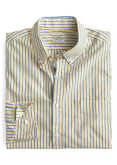 J.Crew Slim Fit Stretch Secret Wash Stripe Sport Shirt